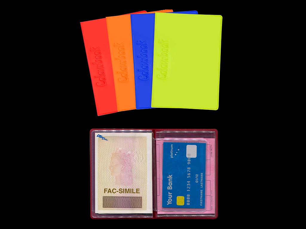 PORTA CARDS E CARTA D'IDENTITÀ ANTITRUFFA