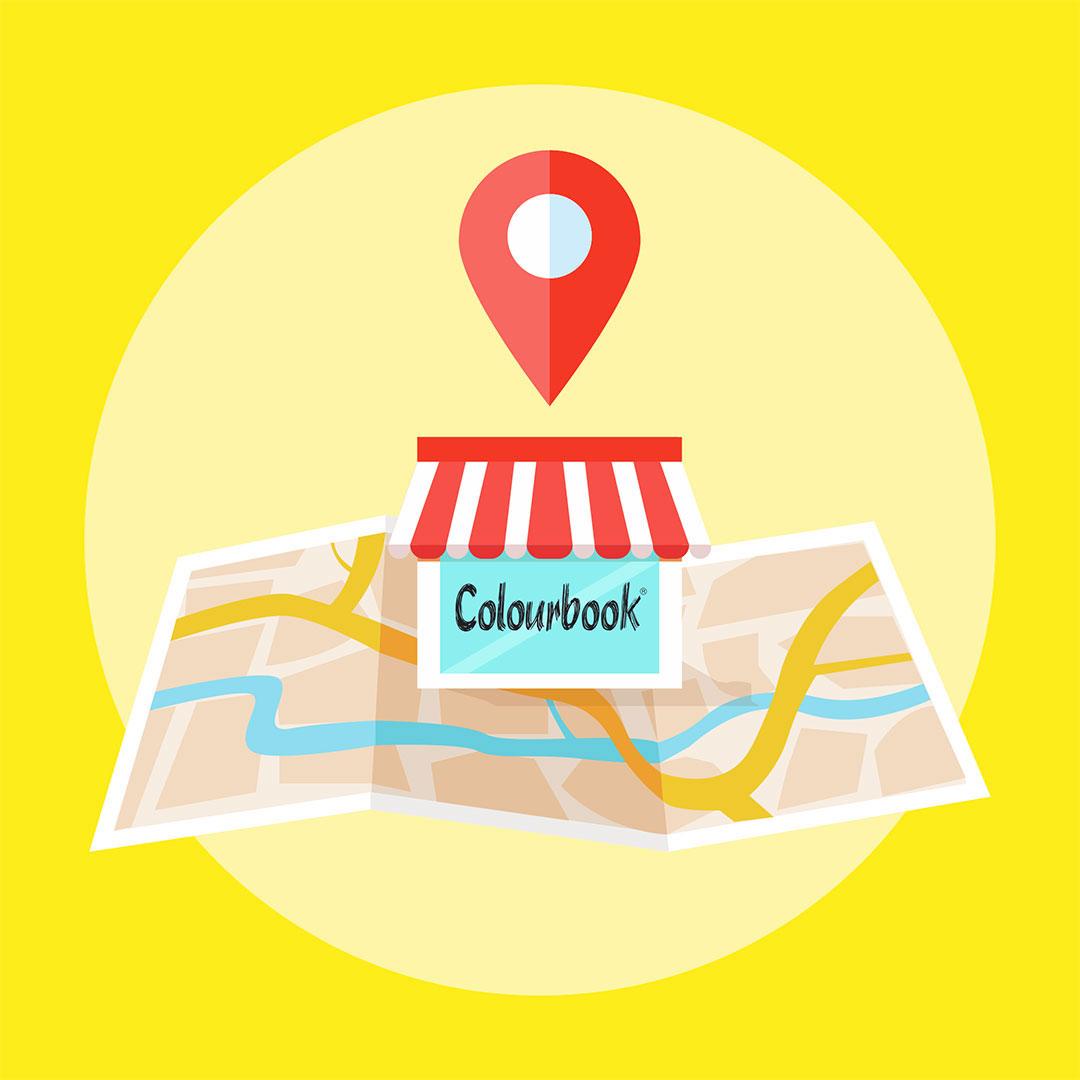 Store locator Colourbook